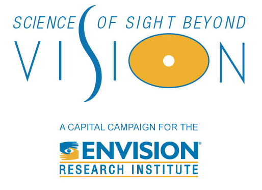 Science of Sight Beyond Vision, A Capitol Campaign for the Envision Research Institute graphic